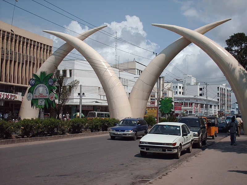 things to do in mombasa, tusks, getting to Mombasa,