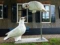 Twee duiven van Ineke van Dijk.jpg