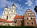 Tytuvėnų Švč. Mergelės Marijos bažnyčios ir bernardinų vienuolyno ansamblio Švč. Mergelės Marijos, Švč. M. Marijos Angelų Karalienės bažnyčia ir vienuolyno namas - panoramio.jpg