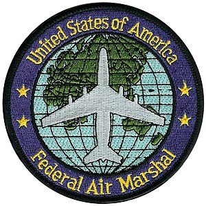 Federal Air Marshal Service - Image: U.S. Federal Air Marshal Service patch