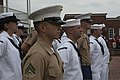 U.S. Marines and Sailors take part in a 9-11 memorial at the Fort McHenry National Monument and Historic Shrine in Baltimore Sept 140911-M-EA576-082.jpg