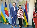 UNODC Regional Representative for Eastern Africa meets with Hon. Mrs. Fazila Jeewa-Daureeawoo, Vice Prime Minister of Mauritius to agree on a common agenda for action in 2019.jpg
