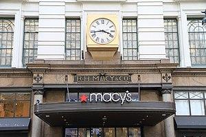Macy's - Entrance detail