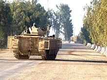 قوات التدخل السريع المصريه  220px-USAF_M113_in_Iraq