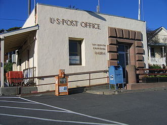 San Quentin, California - The San Quentin Post Office, February 2006