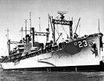 USS Arcadia (AD-23) in 1958.jpg