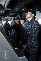 USS George H.W. Bush sailors at work 150206-N-IJ275-003.jpg