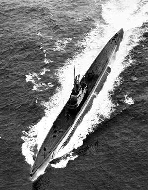 Guitarro (SS-363) 1945.