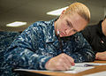 USS John C. Stennis advancement exam 140320-N-OX801-015.jpg