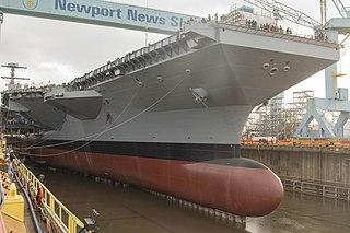 USS <i>John F. Kennedy</i> (CVN-79) planned Gerald R. Ford-class aircraft carrier