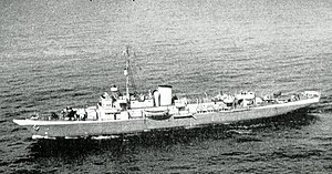 USS Mayflower (PY-1) - Mayflower in World War II configuration.