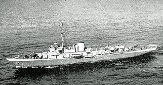USS Mayflower (PY-1) - Mayflower in World War II configuration.