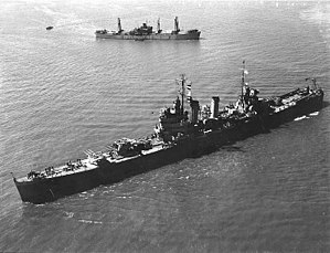 USS Philadelphia (CL-41) in New York Harbor, 26 April 1943 (80-G-63791).jpg