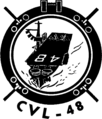 USS Saipan (CVL-48) insignia, 1951.png