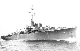 USS <i>Van Buren</i> (PF-42) Tacoma-class patrol frigate