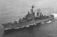 USS Wilkinson (DL-5) underway in late 1950s (NH 106844).jpg