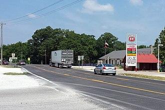Garfield, Arkansas - Highway 62 runs through Garfield