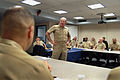 US Navy 040106-N-1963C-001 Adm. Vern Clark, Chief of Naval Operations (CNO) talks to the senior enlisted leadership community in Navy Region South.jpg