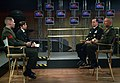 US Navy 051214-N-2383B-024 Chief of Naval Operations (CNO), Adm. Mike Mullen and Commandant of the Marine Corps (CMC), Gen. Mike Hagee are interviewed by Navy Marine Corps News (NMCN).jpg