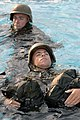 US Navy 070625-N-3642E-306 Marine Corps recruits work together to complete the Combat Water Survival Course at Marine Corps Recruit Depot, Parris Island.jpg