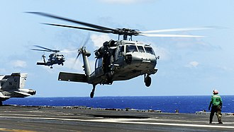 Carrier Strike Group 3 - MH-60S Knight Hawk from HSC-8