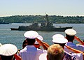 US Navy 110803-N-CJ186-161 USS Sampson (DDG 102) participates in the Parade of Ships during the 62nd annual Seattle Seafair Fleet Week.jpg