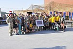 US Navy medical personnel celebrate Father's Day on Kandahar Airfield DVIDS417641.jpg