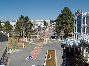 United States Olympic Committee - The grounds of the training facilities in Colorado Springs