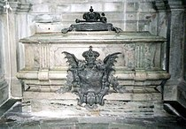 Ulrica Eleanor of Sweden (1688) grave 2007.jpg