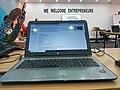 Une vue de l'écran de travail lors de la séance de travail à Douala lors de l'atelier 2 de Nos Jardins à Douala.jpg
