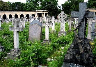 Brompton Cemetery - Image: United Kingdom England London Brompton Cemetery