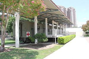 United States Army Medical Department Museum - Hospital train ambulance car