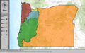 United States Congressional Districts in Oregon (metro highlight), 1983 – 1992.tif