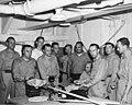University of Washington team with equipment, probably on board the USS CHILTON, 1947 (DONALDSON 26).jpeg