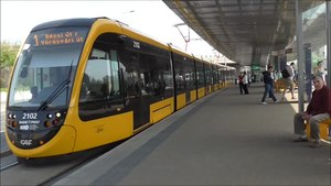 File:Urbos 3 in Budapest (video with trip).webm