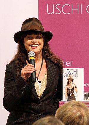 Uschi Obermaier - Uschi Obermaier at the 2013 Frankfurt Book Fair