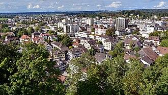 Uster - Image: Uster Kirchuster Schloss Turm 2015 09 20 15 57 44