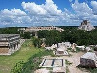Uxmal. ancienne ville maya