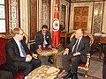 Välisminister Urmas Paet kohtus Tunises Tuneesia parlamendi esimehe Mustapha Ben Jaaferiga. 15. märts 2012 (6840588240).jpg