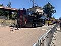 Véhicule d'équipe à Ceyzériat pour l'arrivée de la première étape du Tour de l'Ain 2020 (3).jpg