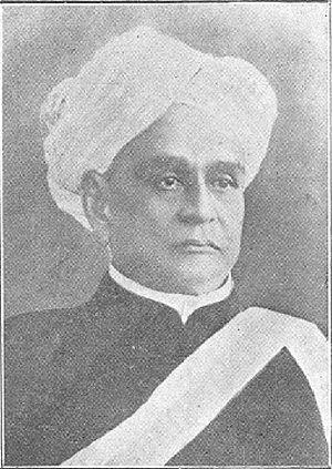 V. P. Madhava Rao - Portrait of V. P. Madhava Rao