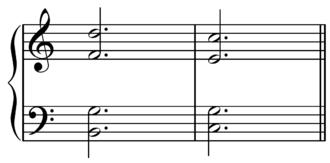 Dominant seventh chord - Image: V7 I resolution