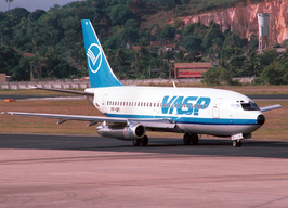 Boeing 737-200 Advanced van VASP in 1998
