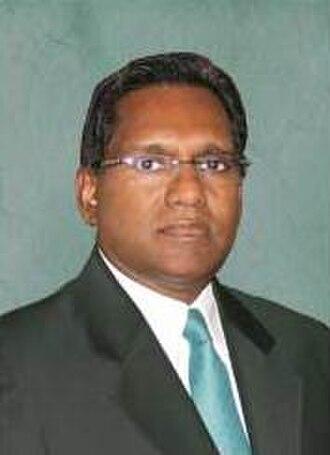 President of the Maldives - Image: VP Maldives Waheed