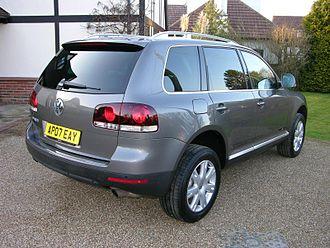 Volkswagen Touareg - Facelift Volkswagen Touareg (UK)