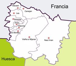 Turistico Valle De Aran Mapa.Valle De Aran Wikipedia La Enciclopedia Libre