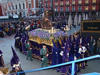 Holy Week in Valladolid - A Holy Week procession