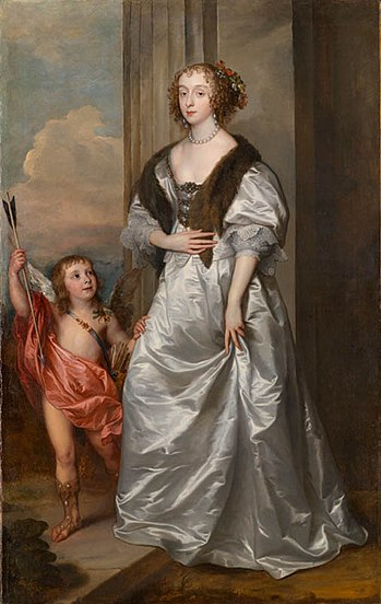 Van Dyck Mary Villiers as Venus