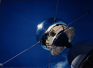 Vanguard SLV-2 - Vanguard Satellite SLV-2 Being Examined at Cape Canaveral