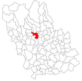 Commune in Prahova County, Romania